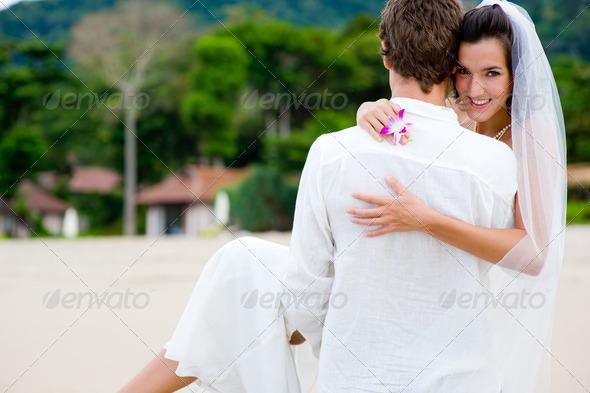 PhotoDune Beach Wedding 348490