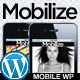 Mobilize - jQuery Mobile WordPress Theme - ThemeForest Item for Sale