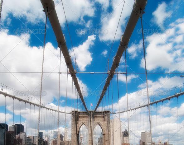 PhotoDune Road above Brooklyn Bridge 3938395