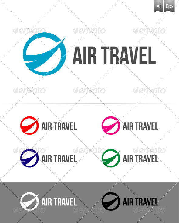 GraphicRiver Airl Travel Logo 3327639