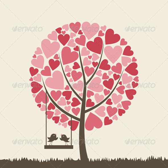 GraphicRiver Bird of love6 3327826