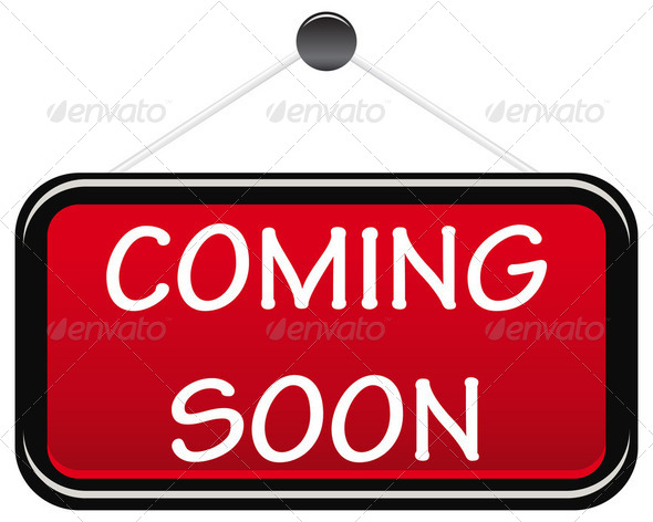 Stock Photo - PhotoDune Coming soon sign board 2213666