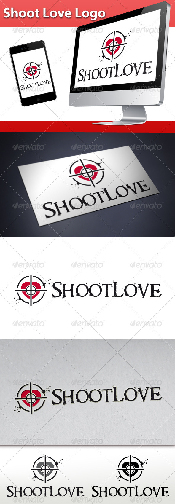 GraphicRiver Shoot Love Logo 3327979