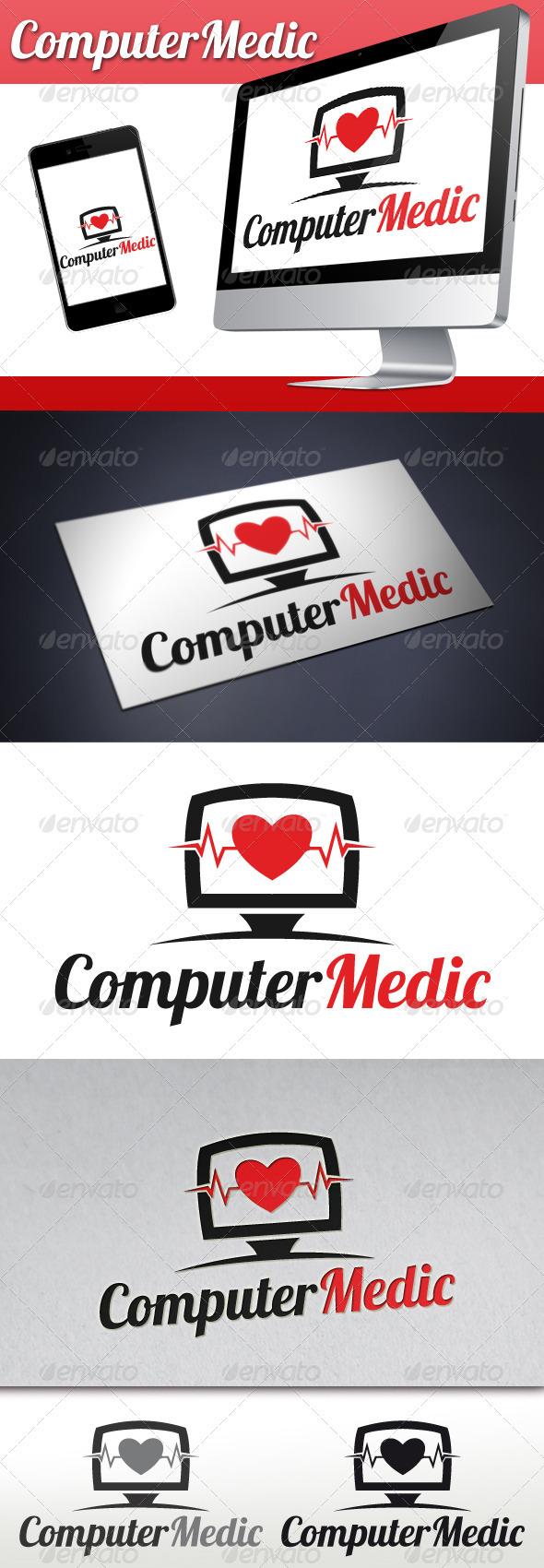 GraphicRiver Pc Medic Logo 3328036
