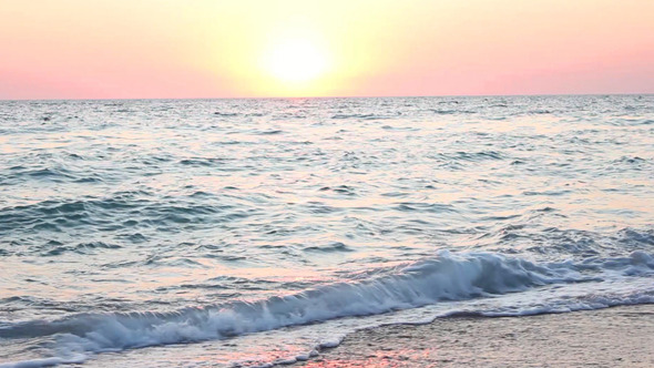 Sunset on the Beach 9