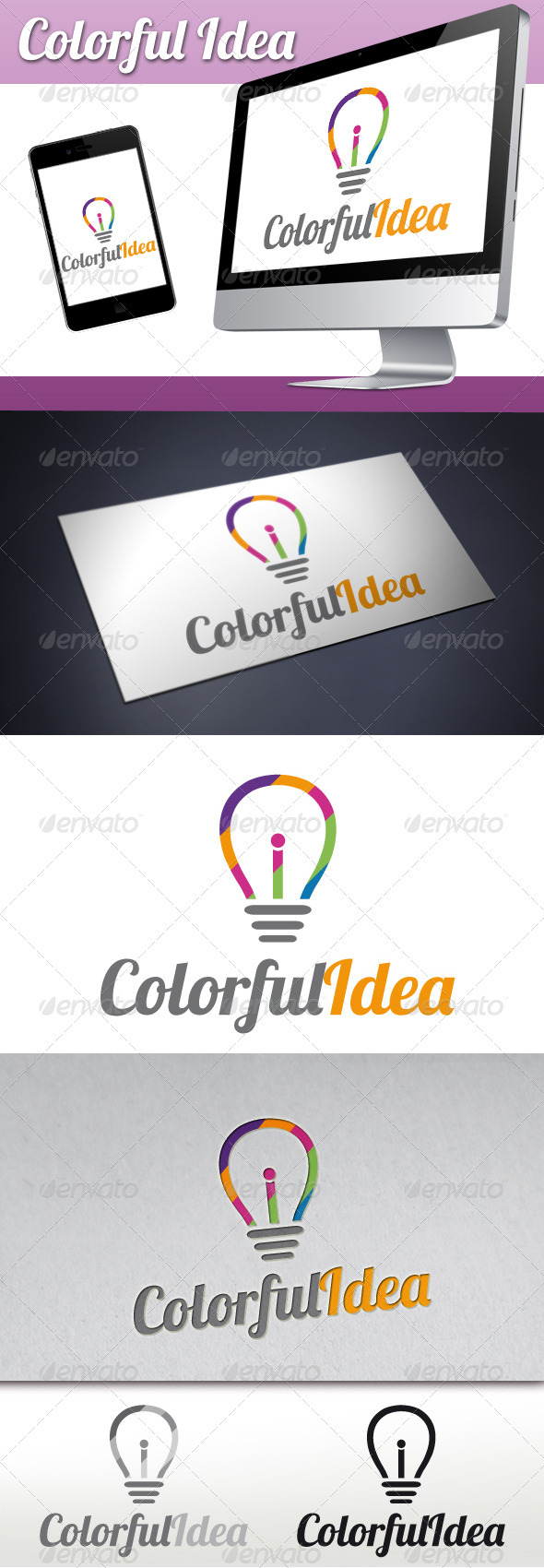 GraphicRiver Colorful Idea Logo 3317242