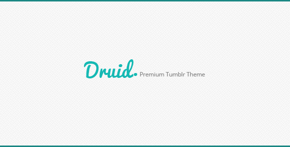 Druid A Premium Tumblr Theme