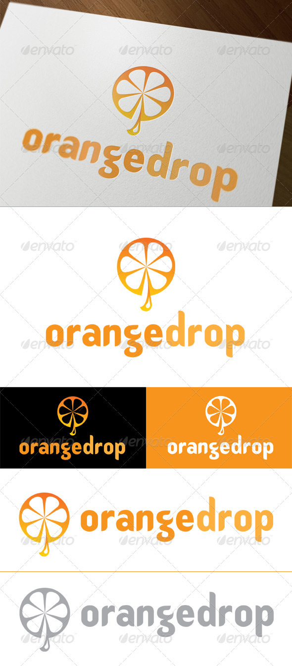 GraphicRiver Orange Drop 3328969