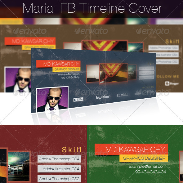 GraphicRiver Maria FB Timeline Cover Page 3311205