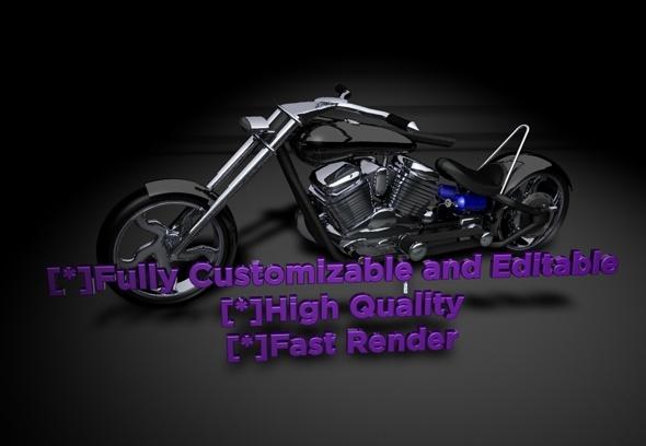 3DOcean Motocycle 3329761