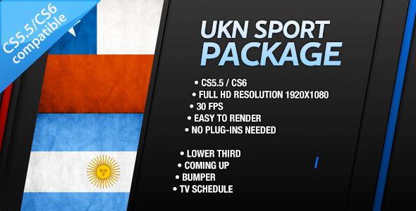 VideoHive UKN Sport Branding Package 3318138
