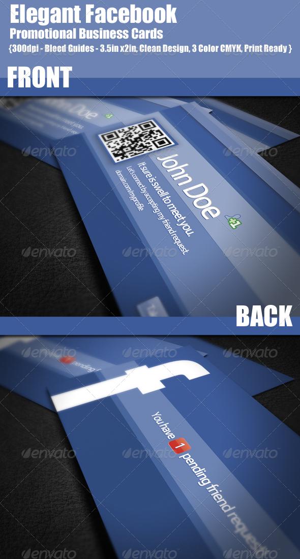 Facebook business card graphics designs templates colourmoves