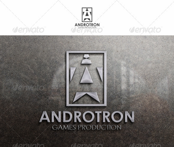 Androtron Logo Template - Letters Logo Templates