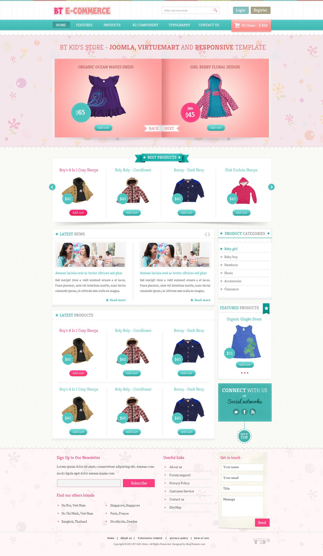 BT E-commerce - Responsive Joomla and Virtuemart