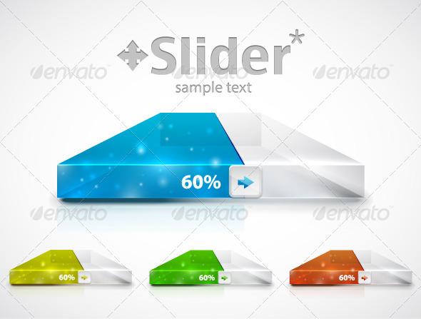 GraphicRiver Modern Slider Progress Bar 3331944