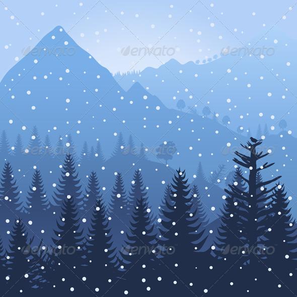 GraphicRiver Mountain3 3332199