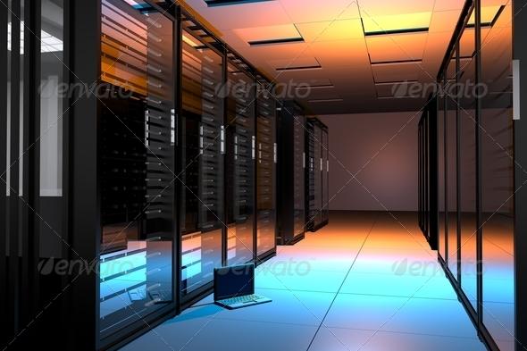 PhotoDune Servers Room 3338103
