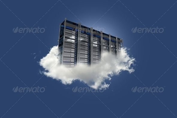 PhotoDune Cloud Server on the Sky 3338126