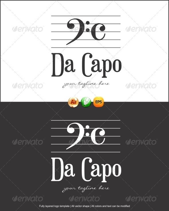 GraphicRiver Da Capo Logo 3310517