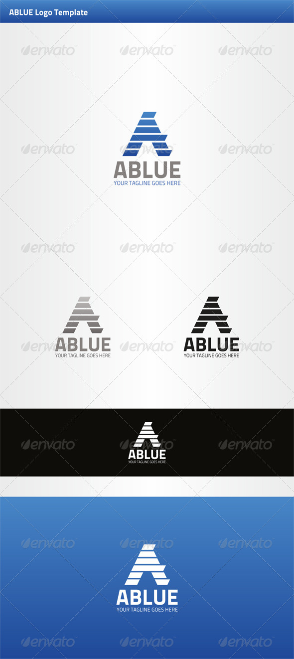 GraphicRiver Ablue Logo Template 3333693