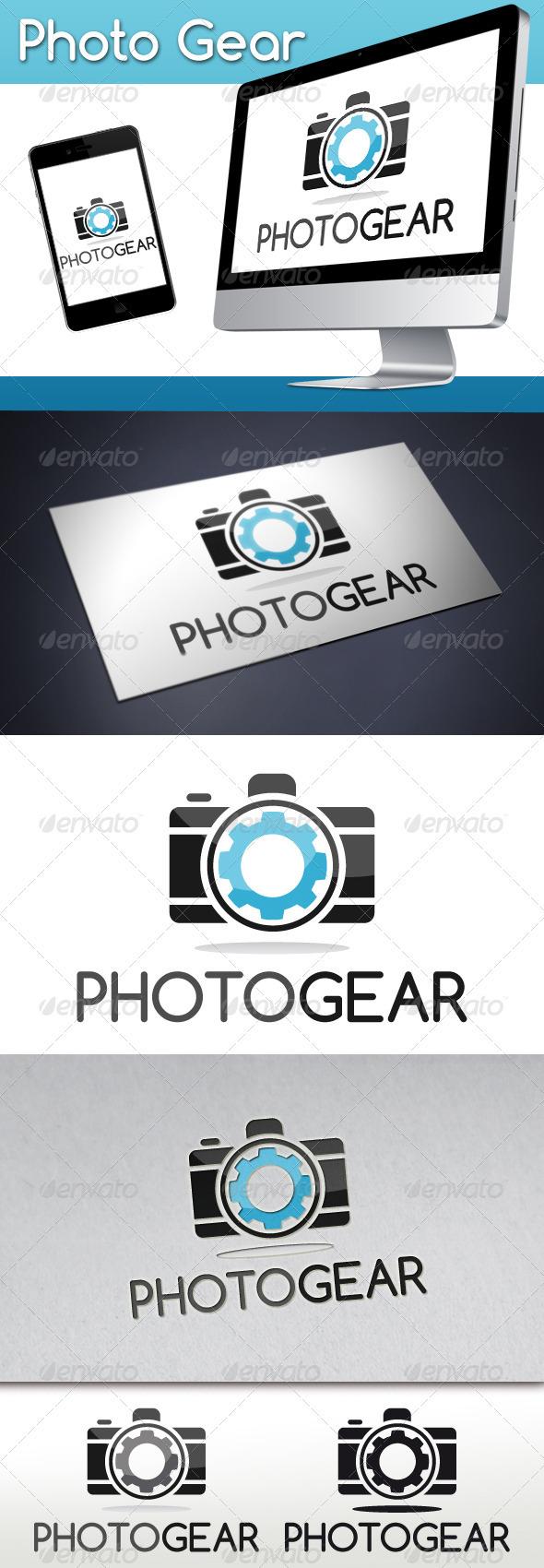 GraphicRiver Photo Gear Logo 3327294