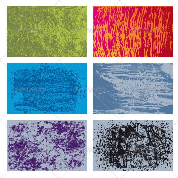 GraphicRiver Grunge Textures Set 3334025