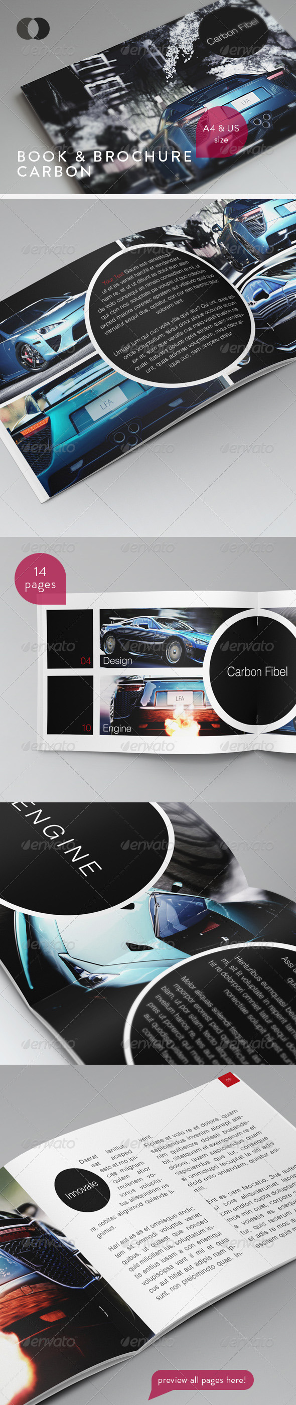 Book & Brochure - Carbon - Corporate Brochures