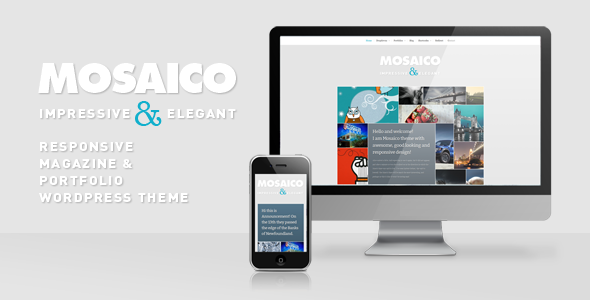 Mosaico - Unique Magazine Theme