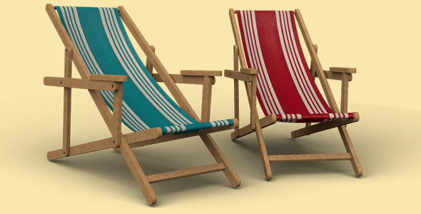 3DOcean Deck Chair 3283516