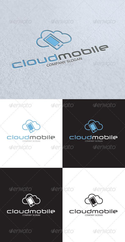GraphicRiver Cloud Mobile Logo 3334973