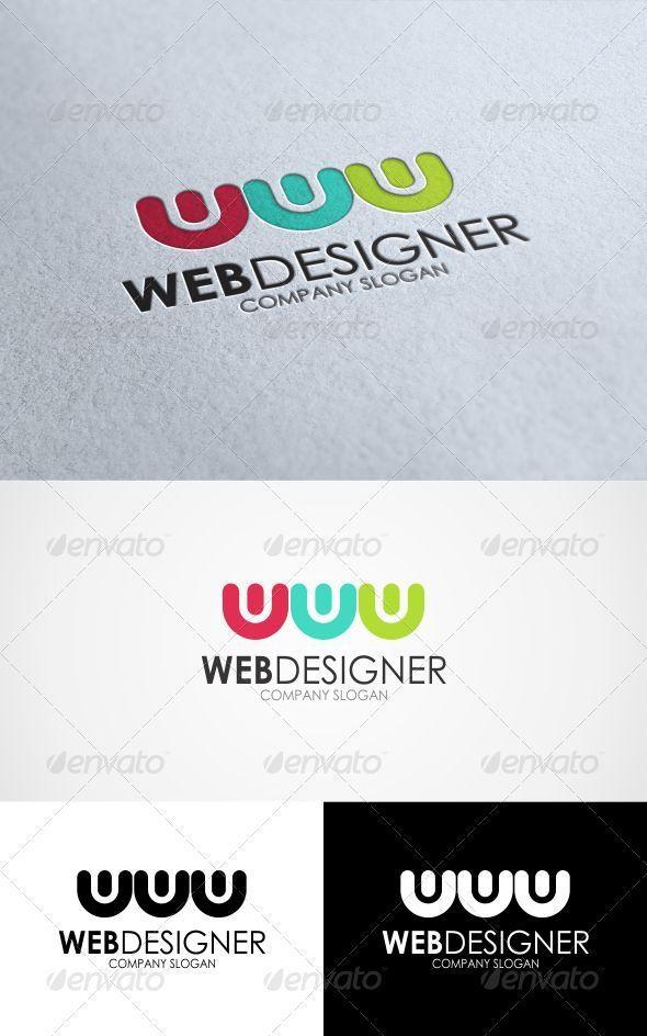 GraphicRiver Web Designer Logo 3336488