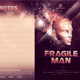 Fragile Man Church Bulletin Template - GraphicRiver Item for Sale