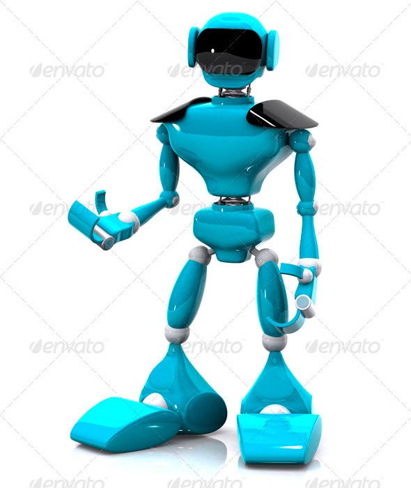GraphicRiver Plastic Robot 3326799