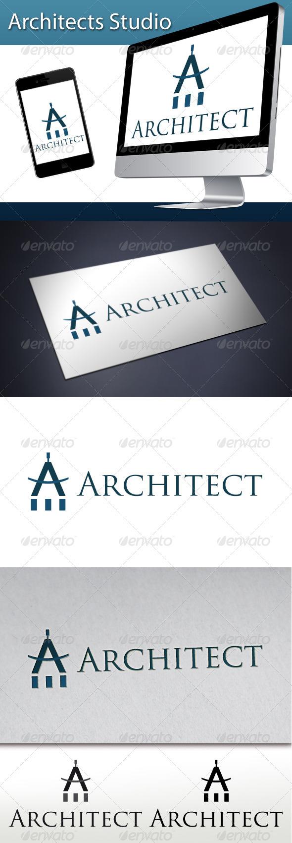 GraphicRiver Architects Studio Logo 1 3337345