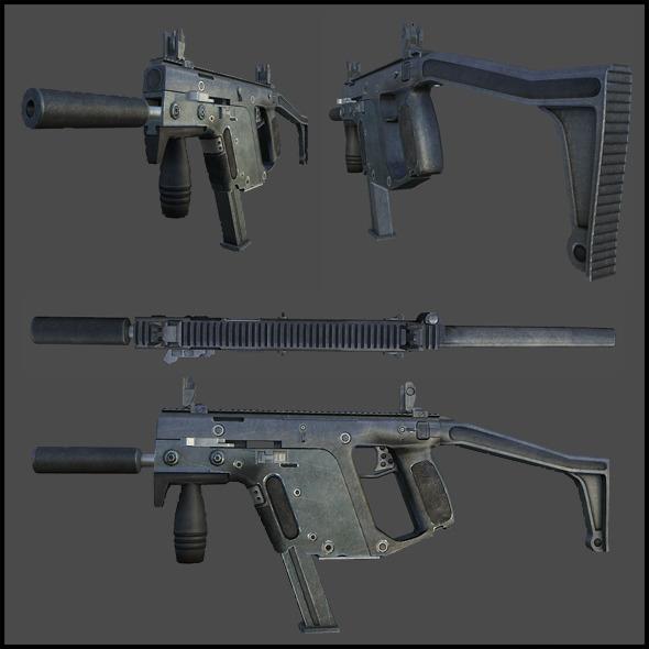 3DOcean TDI Vector KRISS Super V Submachine Gun 3339177