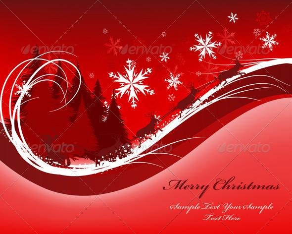 GraphicRiver Christmas Card 3339249