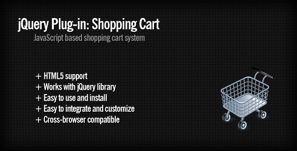 jQuery Plug-in: Shopping Cart - WorldWideScripts.net Item for Sale