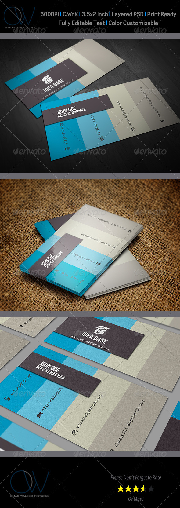 GraphicRiver Corporate Business Card Vol.5 3339258