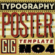 Typography Gig Poster/Flyer 4 - GraphicRiver Item for Sale