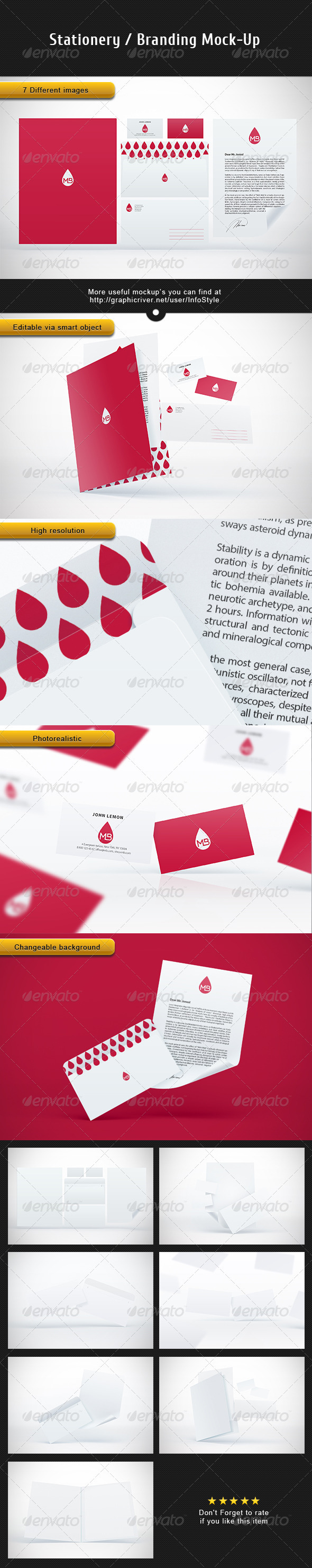 Stationery Branding Mock-Up Vol.2