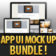 App UI Mock Up Bundle - GraphicRiver Item for Sale