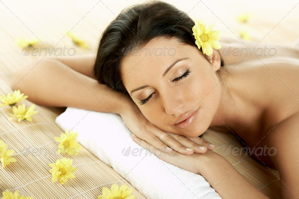 Spa Relaxing - Stock Photo - Images