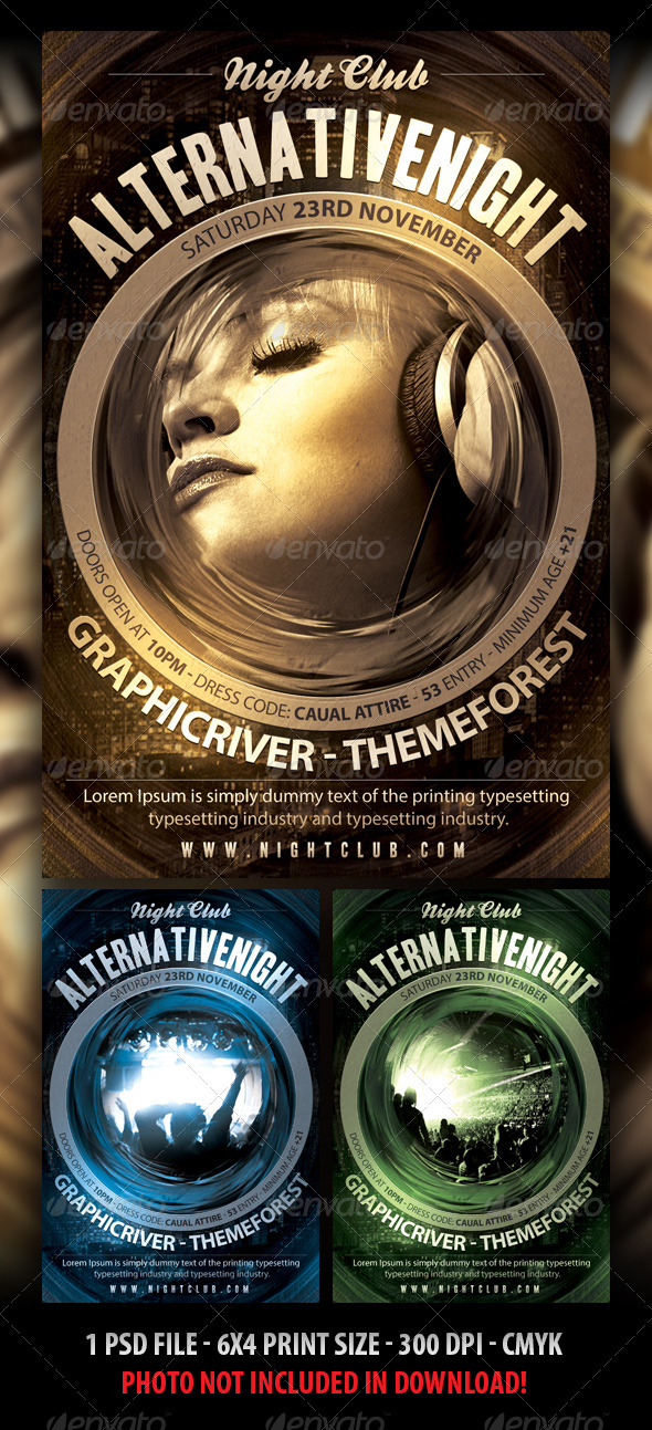 GraphicRiver Indie Flyer Template 3339971