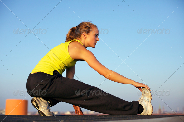 Preparing To Participate In Parkour - Stock Photo - Images