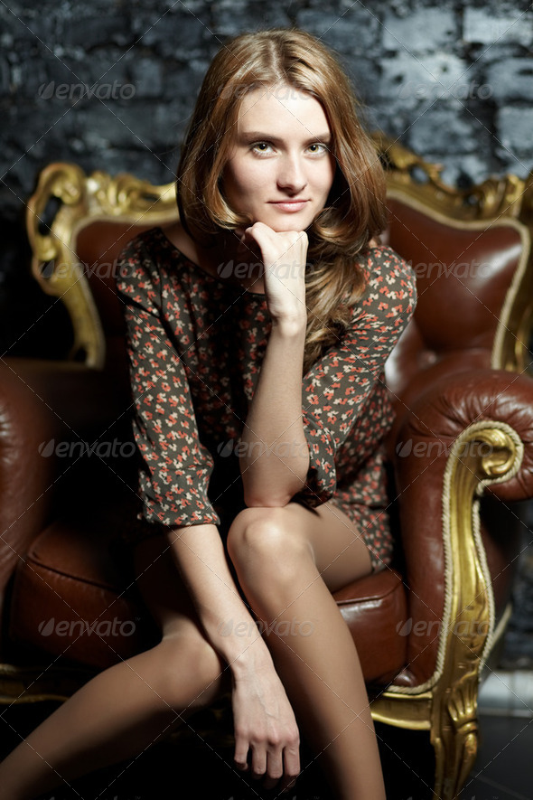 Luxurious woman - Stock Photo - Images