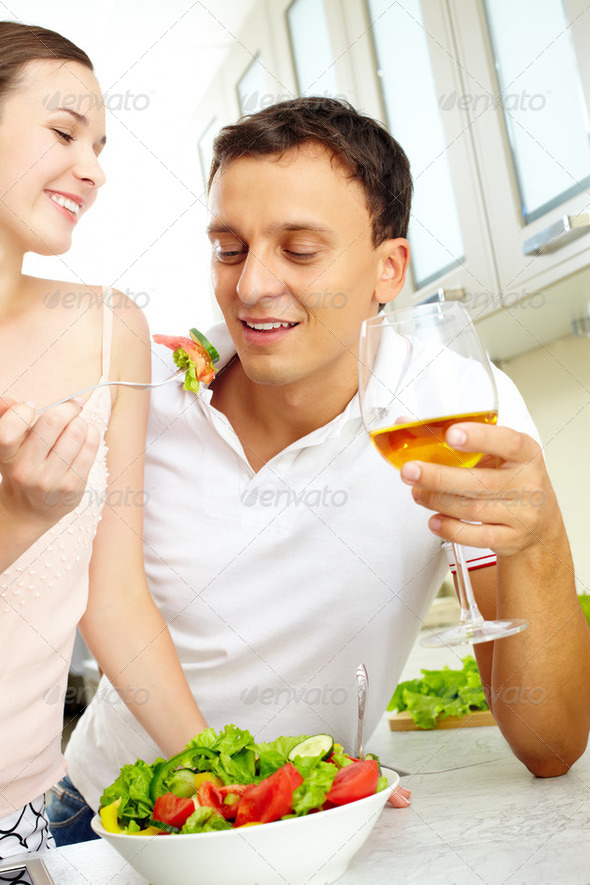 Healthy lunch - Stock Photo - Images