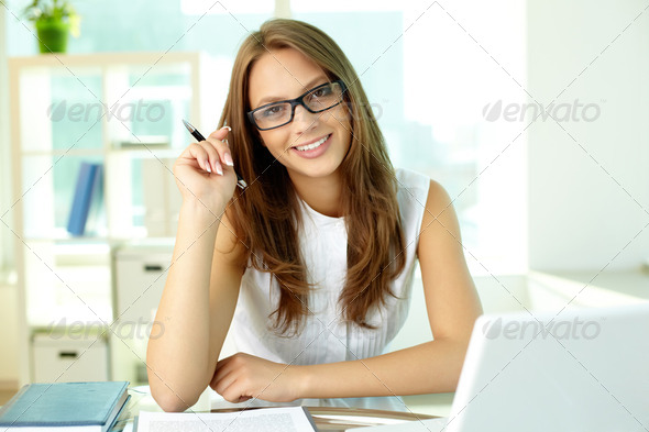 Happy in business - Stock Photo - Images