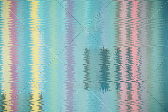abstract multicolor stripes pattern background - Stock Photo - Images