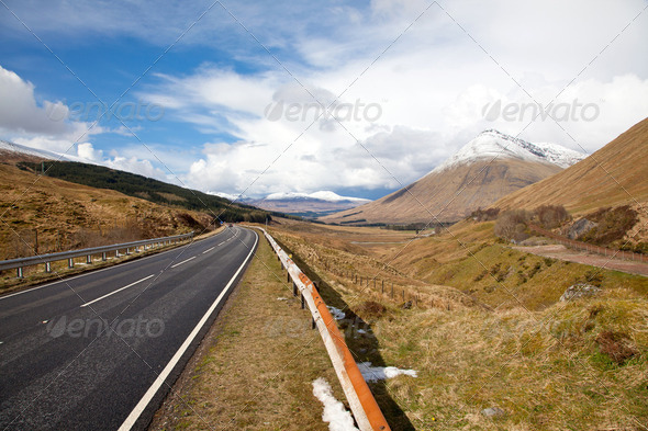 Countryside Road - Stock Photo - Images