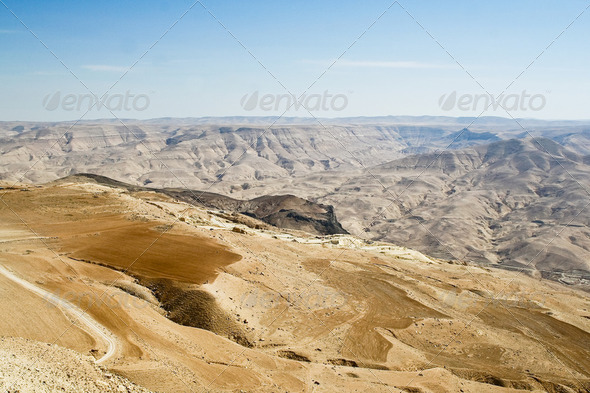 Landscape of Jordan - Stock Photo - Images